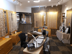 Lakewood Eye Center optics boutique