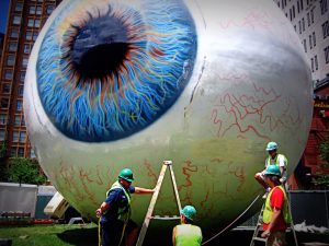 Lakewood Eye Center giant eyeball